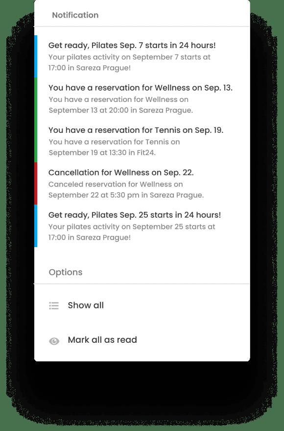 Detail automatizované zprávy